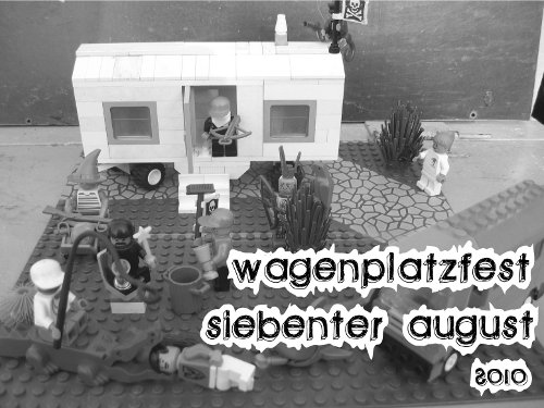 Wagenplatzfest am 7. August in Erfurt